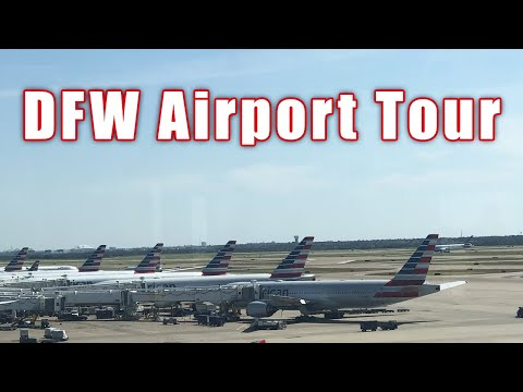 A Tour Of The Dallas Airport And Why The Airport Is Unique!