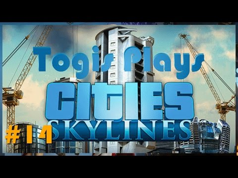 Cities Skylines Let's Play - 14 - Second Circle District
