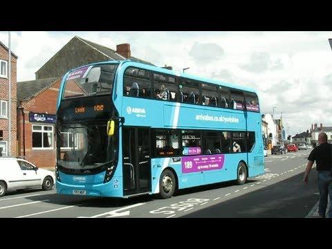 Buses at Castleford Bus Station - Summer 2017