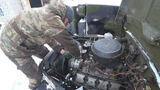 Газ-66, Урал 4320 жөндеу моторном бөлікте.
