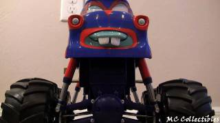 Talking TORMENTOR Monster Truck Mater Disney Cars Toon Mater's Tall tales Toy review Blucollection thumbnail