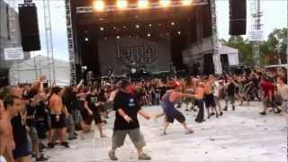 INSANE WALL OF DEATH - Lamb of God, Sydney 2012 [HD]