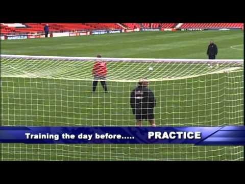 Perfect practice makes perfect performance - Beckham