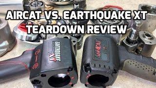 Teardown: Harbor Freight Earthquake XT vs. Aircat 1150 - Impact Wrench review