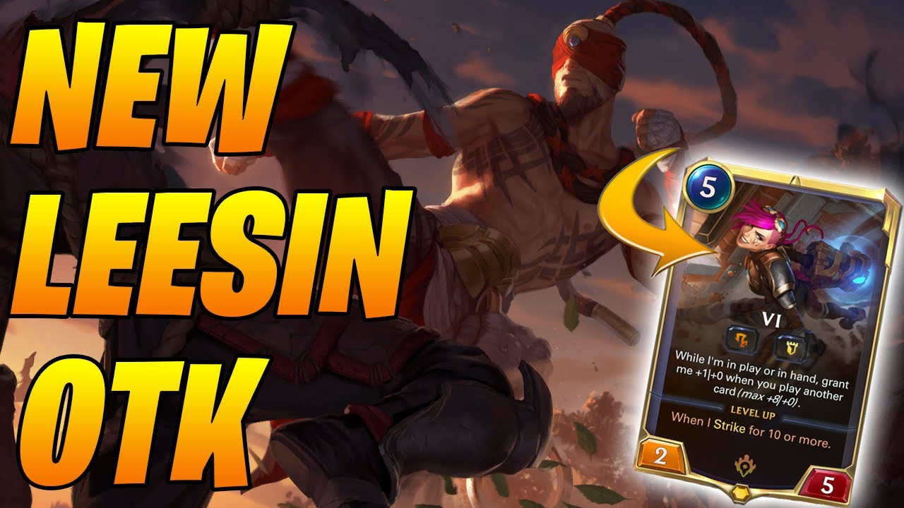 *NEW* OTK OMEGA PUNCH + KICK Vi Lee Sin Deck | Legends of Runeterra | Controltheboard
