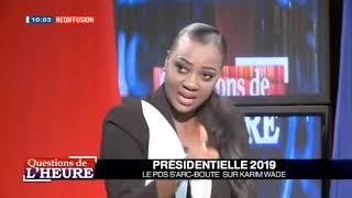 Question de l'heure Présidentielle 2019 le pas s'arc-boute sur Karim wade  2018-09-17
