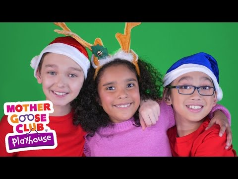 Christmas Song | We Wish You a Merry Christmas | Mother Goose Club Playhouse Video