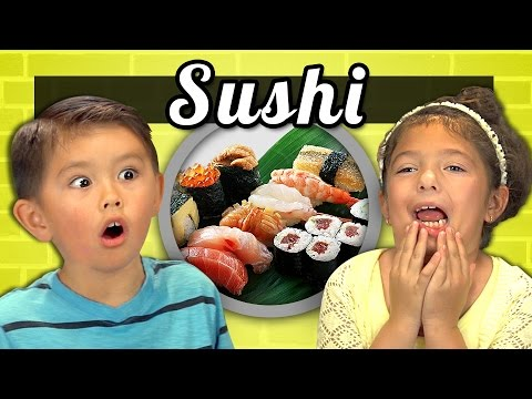 Thumbnail: KIDS vs. FOOD #15 - SUSHI