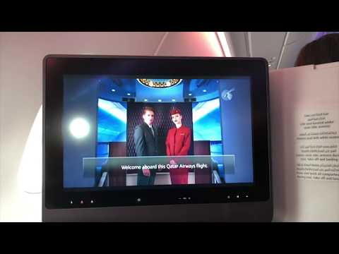TRIP-REPORT Business Class onboard Qatar Airways A380 / Doha - London