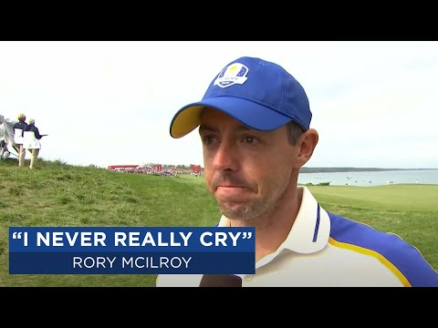 Emotional Rory McIlroy after Ryder Cup defeat | 2020 Ryder Cup