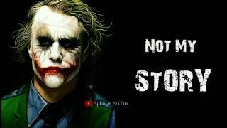You See My Smile.Not My Pain - Joker Best Whatsapp Status / BGM Link In Description