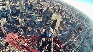 Roof topping the China World Trade Center Tower 3 B (Beijing, China )
