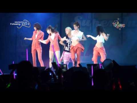 [Fancam] 100911 SNSD - Dance Break @ SM TOWN 2010 Shanghai