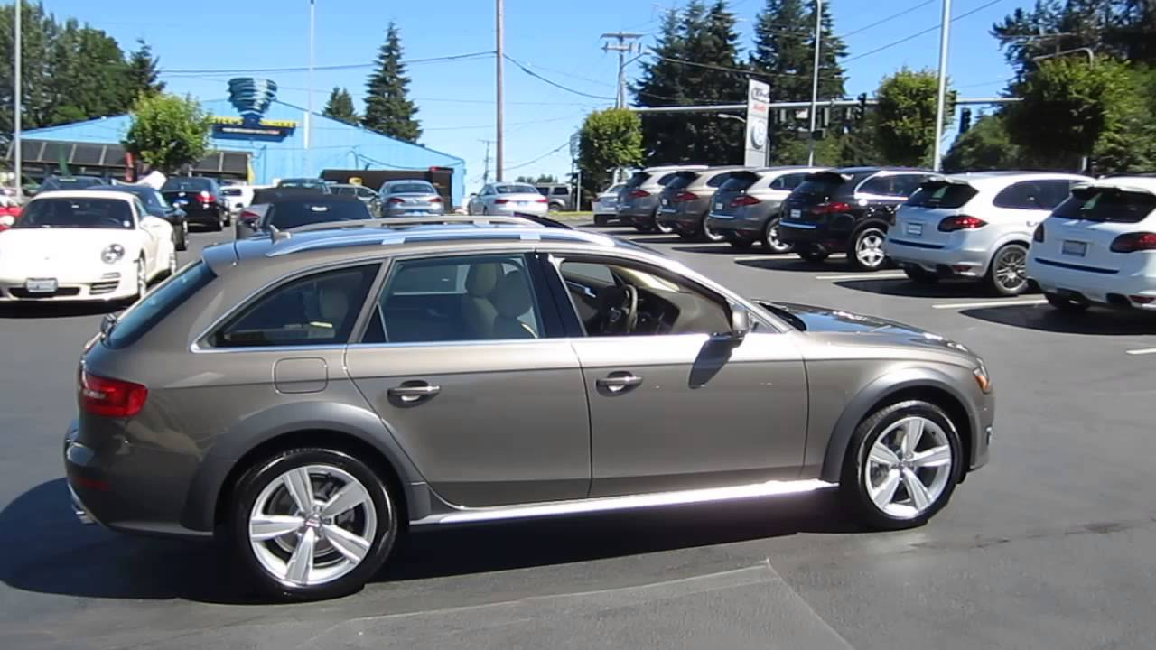 2014 Audi Allroad Dakota Gray Stock 109408 Youtube