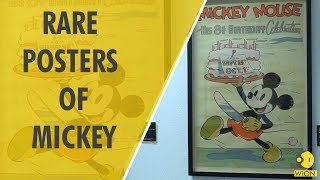 Mickey Mouse posters up for auction