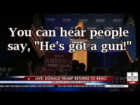 Trump Assassination Attempt Reno, NV 11.05.16