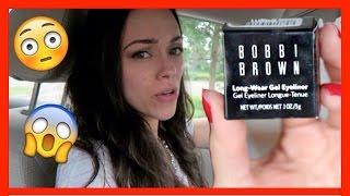 Delineador Bobbi Brown: ¿Duro haciendo vueltas?