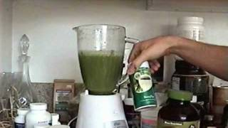 How To Make A Healthy Green Smoothie Drink For Chi, Weight Loss, Avoid Diabetes Advanced Blending