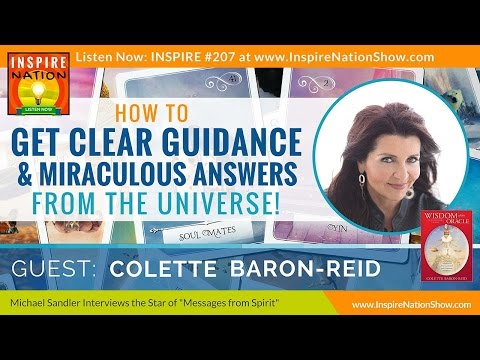 🌟 How to Get Clear Guidance from the Universe | Colette Baron Reid | TV Host of Messages from Spirit