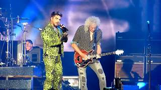 Fire Fight Australia - Queen + Adam Lambert - Radio GaGa