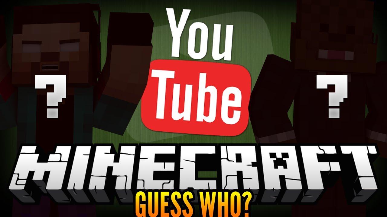 Jeromes Head Minecraft Guess Who Wnoahcraftftw Jeromeasf Youtube
