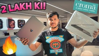 BUYING MACBOOK PRO from CROMA 🥳🥳🤑