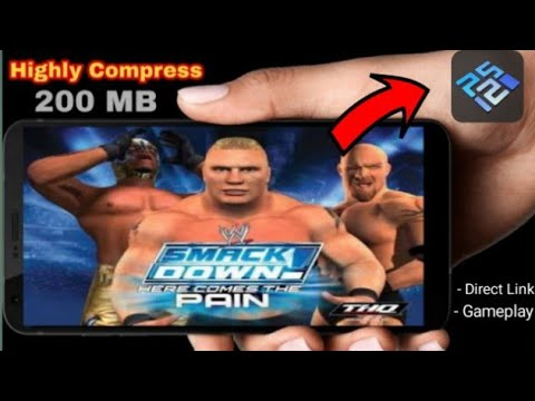 🔥(200 MB) | How To Download WWE Smackdown Here Comes The Pain For Android