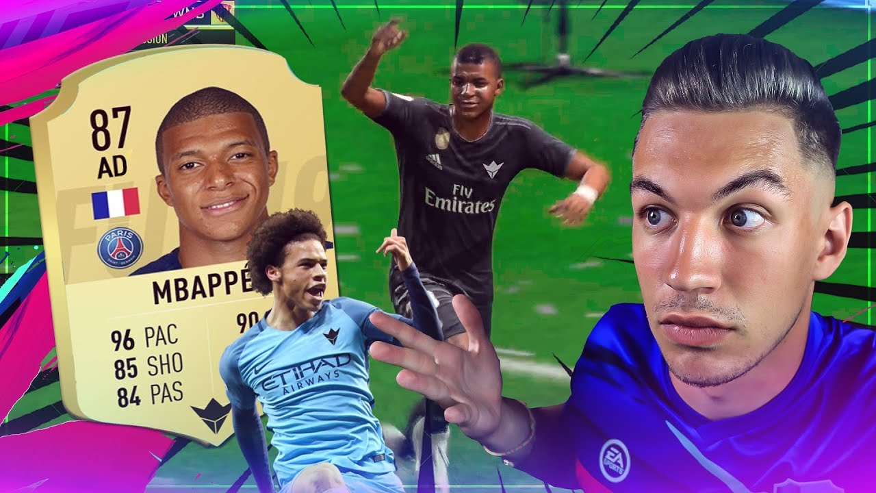 MBAPPÉ & SANÉ SONT INCROYABLES - DRAFT FIFA 19 !