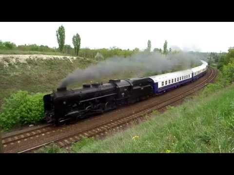 424.247 a Golden Eagle Danube Express Balkan Odyssey luxusvonatával a körvasúton