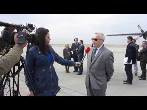 The second plane with Polish aid for refugees in Iraqi Kurdistan, 16.11.2014