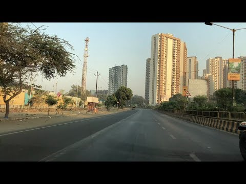 Driving Thane - Ghodhbunder Road