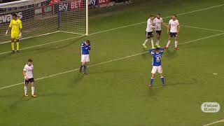Ipswich 0-1 Blades - FA Cup action
