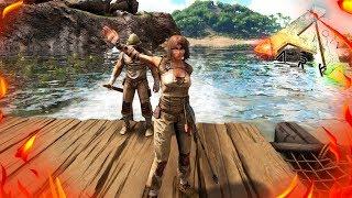 ARK: Survival Evolved - Шикарный слив в АРК! ХАРДКОР #6