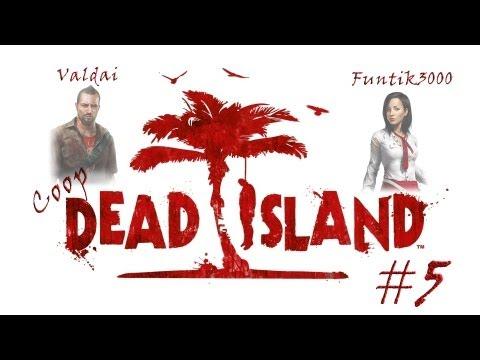 Смотреть прохождение игры [Coop] Dead Island. Серия 5 - В поисках еды.