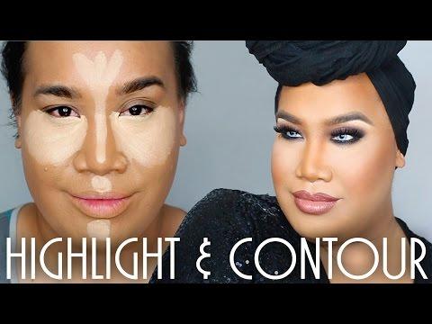 How to Highlight and Contour | PatrickStarrr