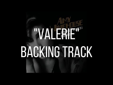 Valerie - Amy Winehouse / Acoustic Backing Track