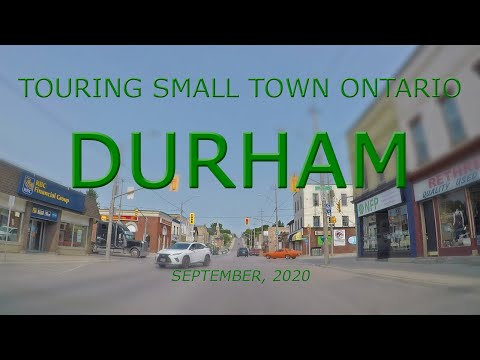 Touring Small Town Ontario: Durham (September, 2020)