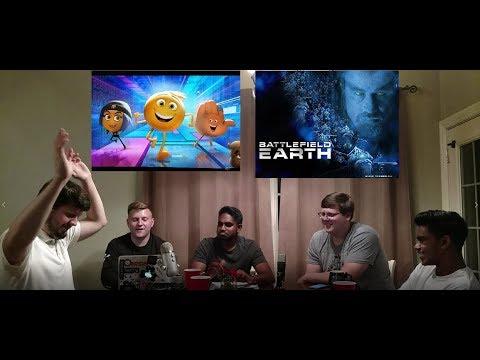 Dumb People Vs. Dumber Movies: Emoji Movie+Battlefield Earth