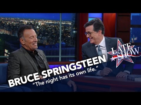 "Bruce Springsteen: ""I'm Here To Take You Out Of Time"""