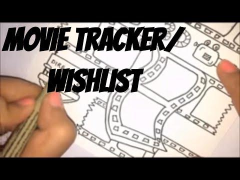 Bullet Journal : Date night/Movie night tracker