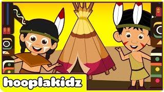 Ten Little Indians | Nursery Rhymes | Popular Nursery Rhymes by Hooplakidz