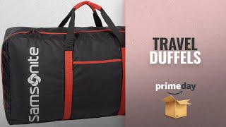 Save Big On Travel Duffels Prime Day 2018: Samsonite Tote-a-ton 32.5 Inch Duffle Luggage, Black
