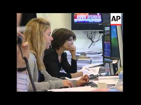 German DAX down in early trade, Paris trading, Moscow halted
