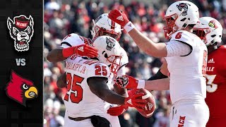 NC State vs. Louisville Football Highlights (2018)