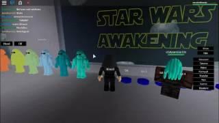 STAR WARS AWAKENS|roblox