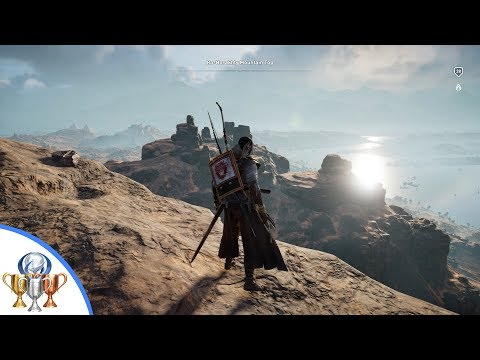 Assassin's Creed Origins - I Can See My House From Here - Climb to the Top of  Black Desert Mountain