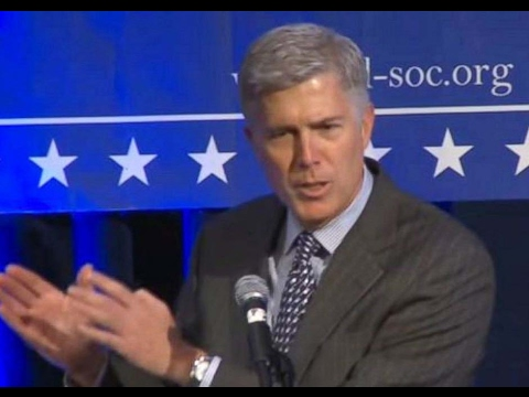 Neil Gorsuch - Too Many Federal Laws?