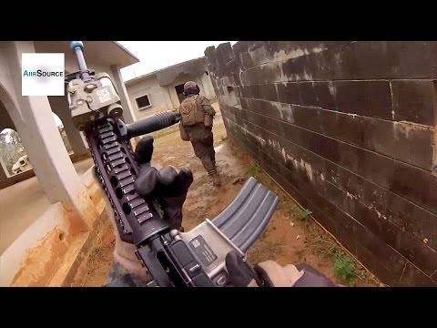 US Marines Urban Warfare Training