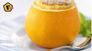 АПЕЛЬСИНО БЕЛКОВОЕ СУФЛЕ ✶ белковый рецепт - суфле с апельсином