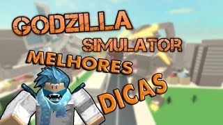 ROBLOX-THE BEST TIPS of the ⟪ Godzilla Simulator ⟫